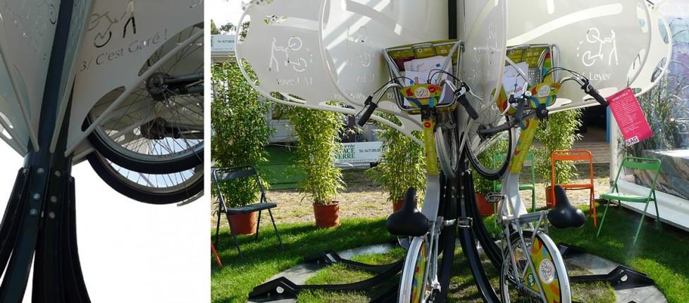 L'arbre à vélos